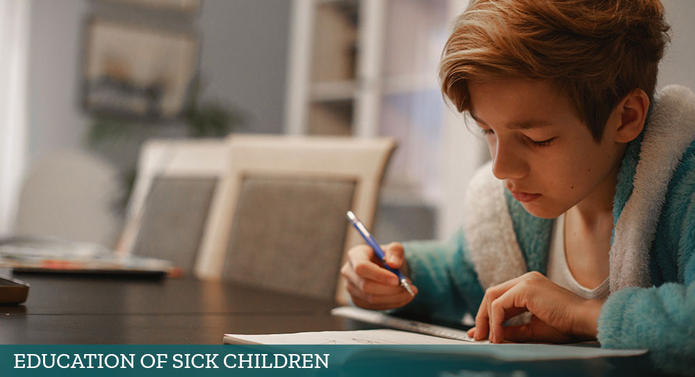 Education of Sick Children Section banner