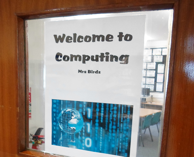 Welcome to Computing sign