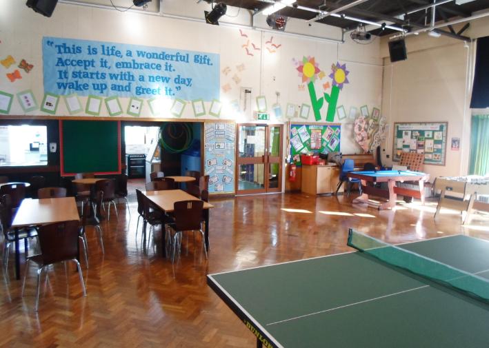 A school hall
