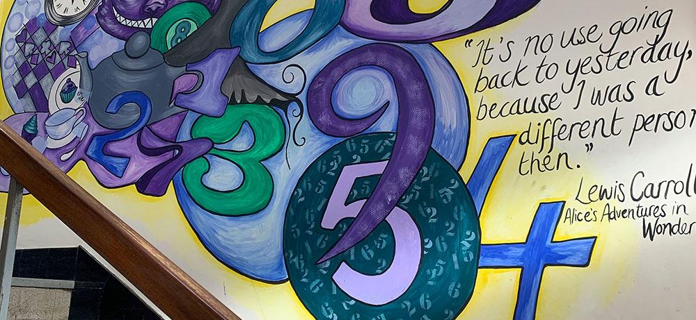 Artwork at Pendlebury Centre